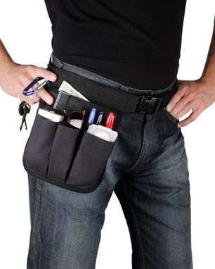 Custom Made Traveler Man Belt Hipnotions Hip Tool Belt With Zipper Pocket