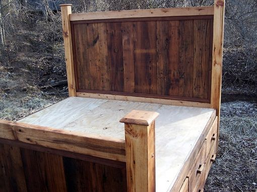 rustic platform beds with storage storage design 12 drawer rustic reclaimed wood platform storage bed buy hand made