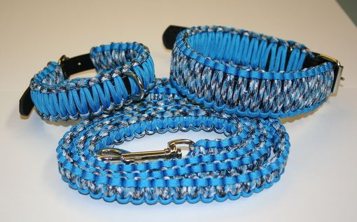 Custom Made Paracord Leash W/Matching 10-13