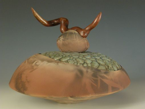 Custom Made River Rock Vessel