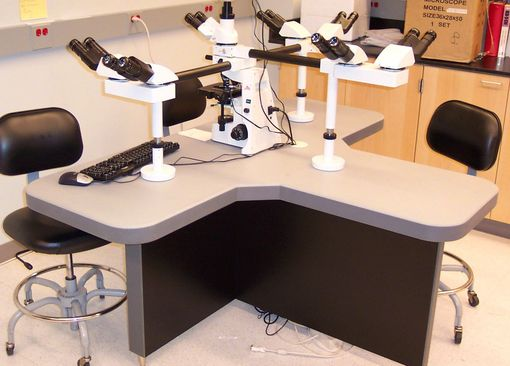 Custom Made Microscope Tables
