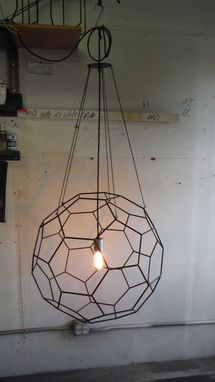 Custom Made Truncated Isocahedron Pendant