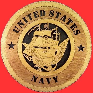 Custom Made 2-D Military Plaques
