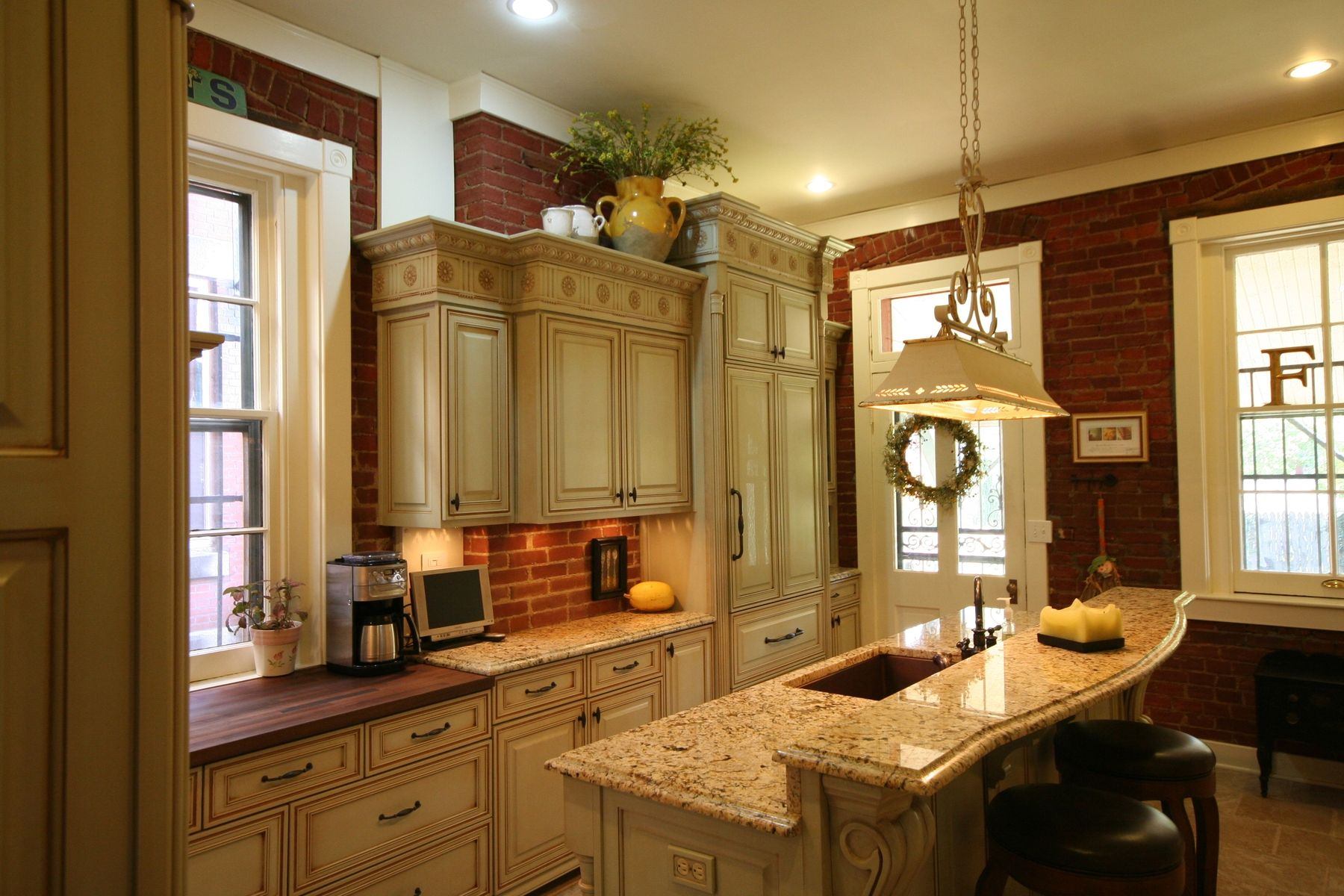 hand crafted historic home kitchen remodel  walters