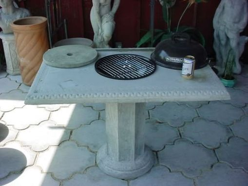 Custom Made Con-Verta-Table Iced Beer Concrete Table