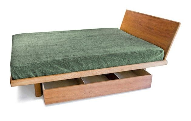 Handmade floating platform bed frame only by bedworks - Best platform beds with storage ...