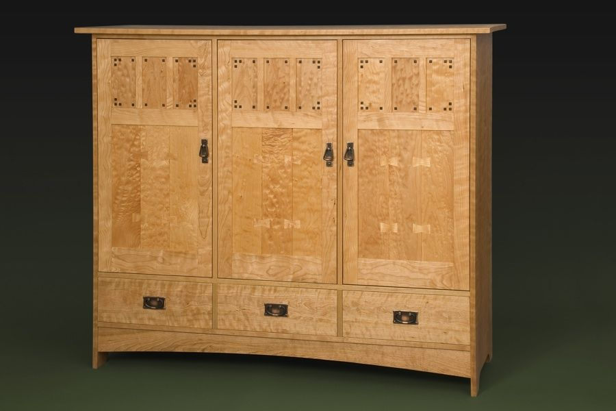 Hand Made Mission Player Piano Roll Cabinet by William Laberge ...