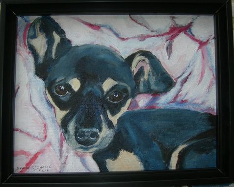 Custom Made Custom Pet Portrait Of Spike