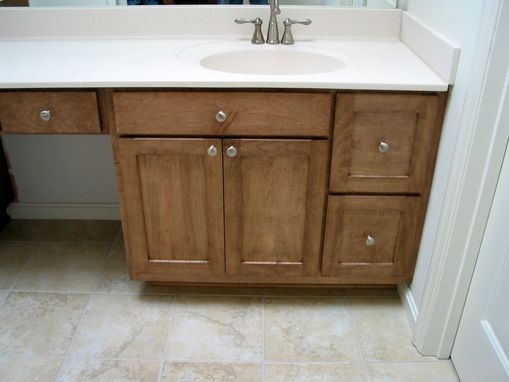 Custom Made His & Her Contemporary Vanity