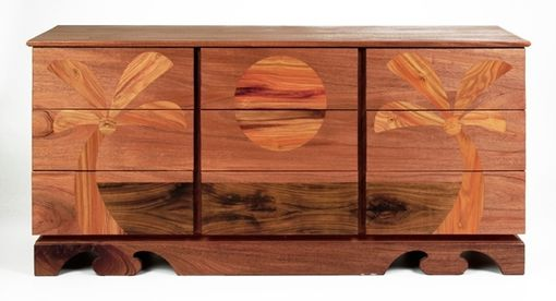 "Custom Made ""Maui"" 9 Drawer Dresser"