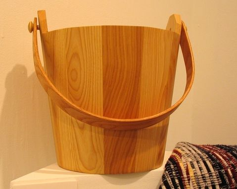 Custom Made Wooden Bucket