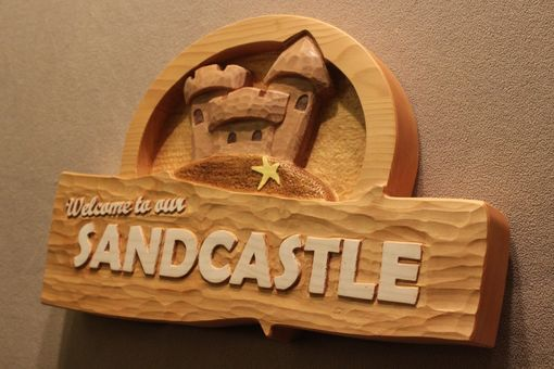 Custom Made Custom Wood Signs | Carved Wooden Signs | Beach Home Signs | Vacation Home Signs | Home Signs