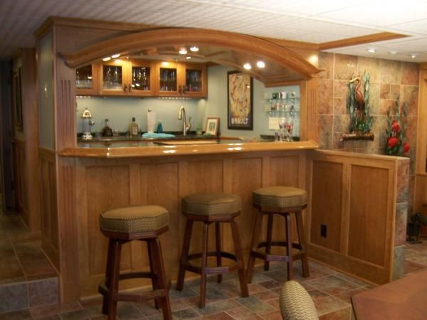 Hand Made Residential Bar By Architectural Accents