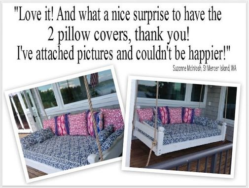 Custom Made Custom Sized Cushion/Core Sets Or Covers