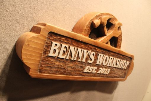 Custom Made Carved Wooden Signs | Custom Wood Signs | Shop Signs | Business Signs