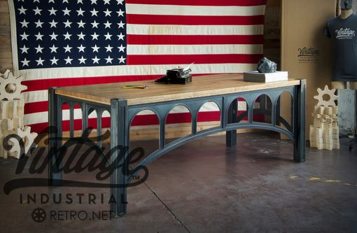 Custom Made 42 Sit Stand Desk