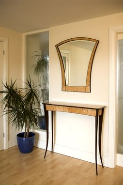 Custom Made Hall Table And Mirror