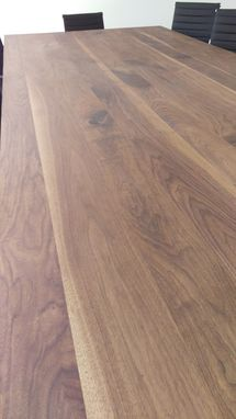 Custom Made Walnut Conference Table
