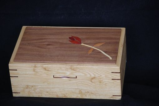 Custom Made Rose Jewelry Box