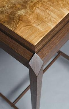 Custom Made Oregon Walnut And American Cherry Tables  (Diamond Series: Gem1 & Gem2)