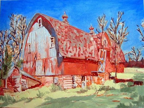 Custom Made The Red Barn
