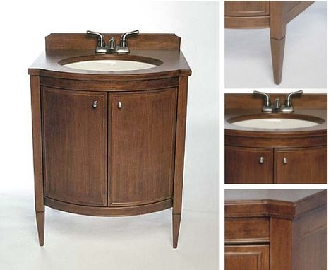 Custom Made Custom Design Cherry Vanities