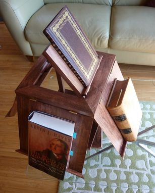 Custom Made Thomas Jefferson's Revolving Bookcase