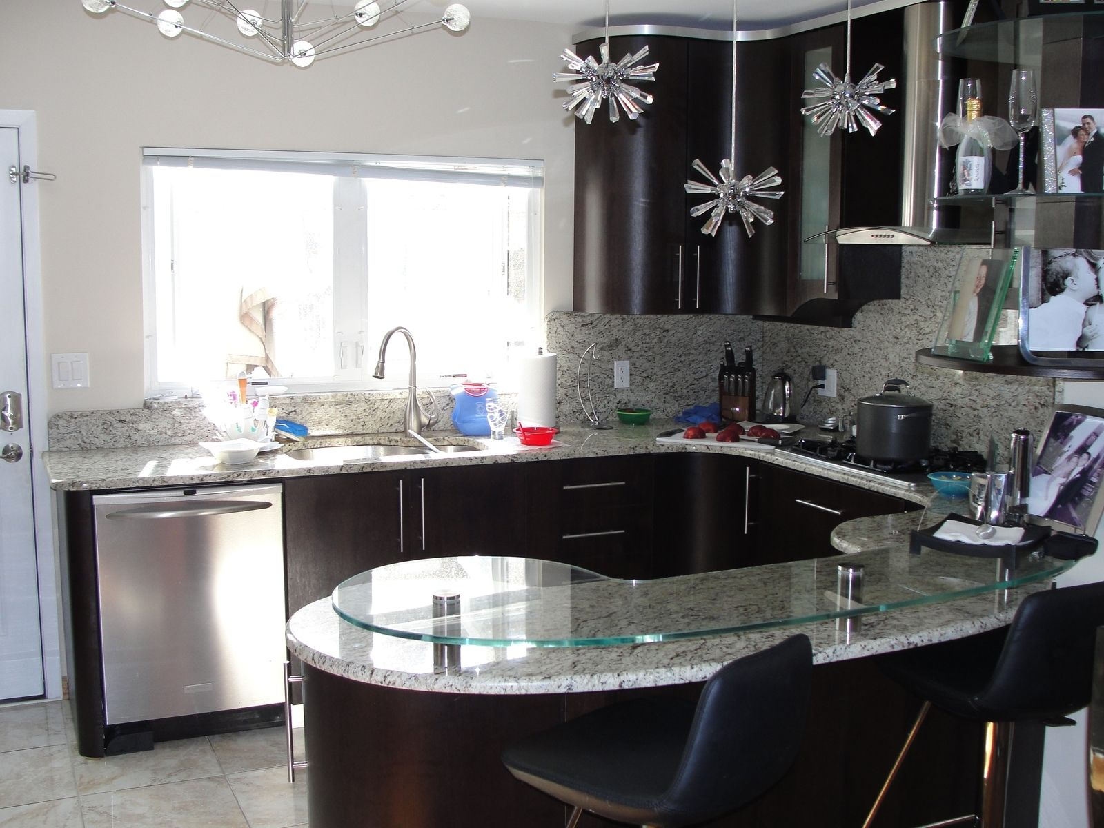 Handmade custom wenge kitchen by creative made custom for Wenge kitchen designs