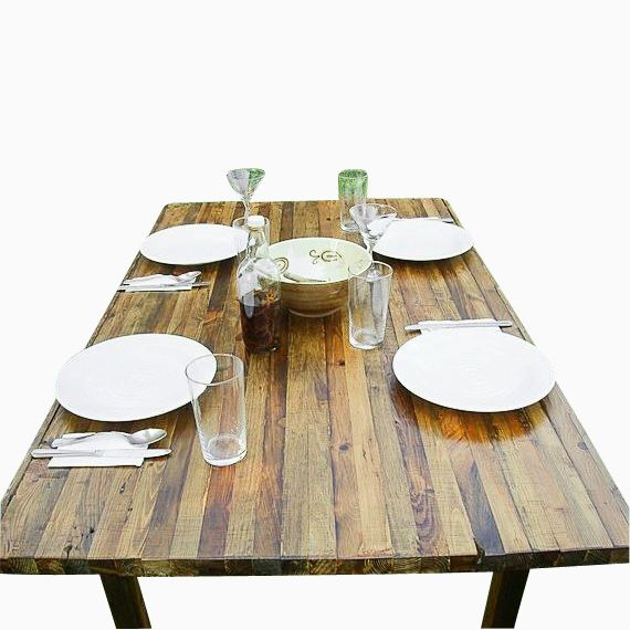 Buy A Hand Made Reclaimed Wood Dining Table Made To Order From