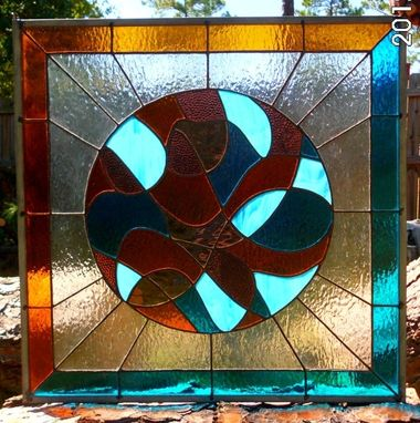 Custom Made Stained Glass Art