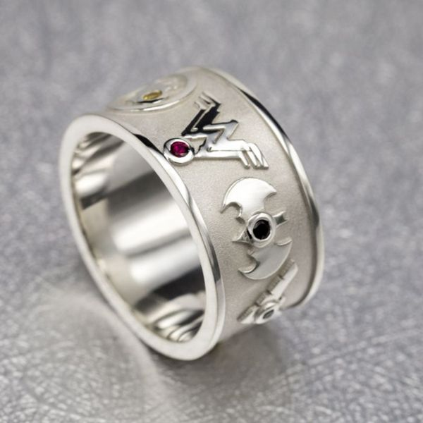 wedding mens trends hinged bands rings anime