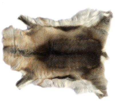 Custom Made Genuine Reindeer Hide Beige/Brown
