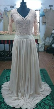 Custom Made Camille Wedding Skirt And Top