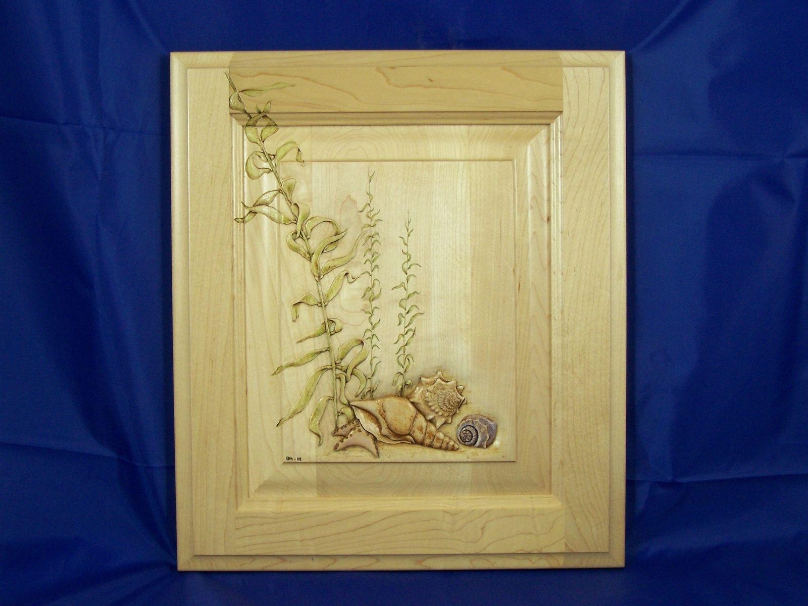 Custom cabinets door carvings by carving dreams in wood for Custom cabinet doors
