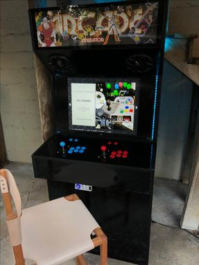 Custom Made Slim Classic Arcade Cabinet - 15,000+ Games