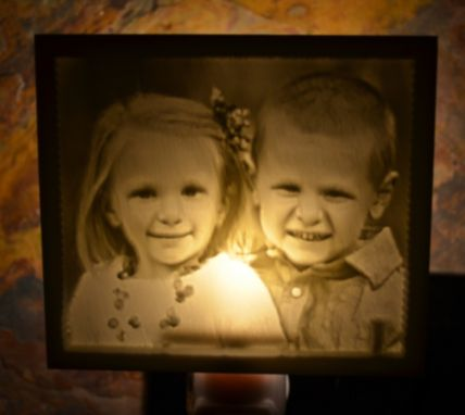 Custom Made Evergraph Lithophane Nightlights