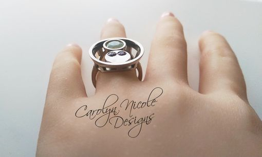 Custom Made Custom Who Initials Ring