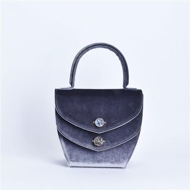 Custom Made Velvet Multi-Utilities Handbag