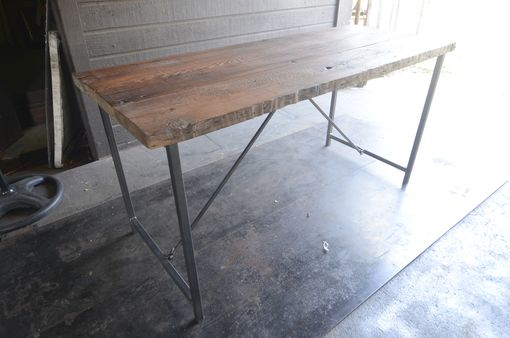 Custom Made Metal-Work Desk Frame Legs - Diy Top