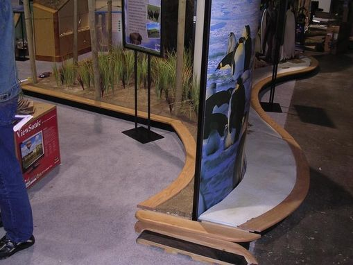 Custom Made Exhibit Display Framework