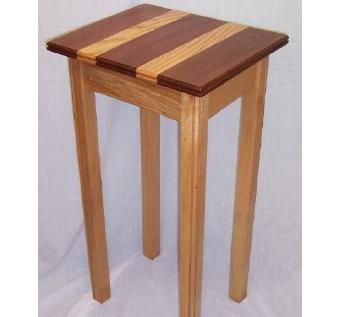 Custom Made Tall End Table