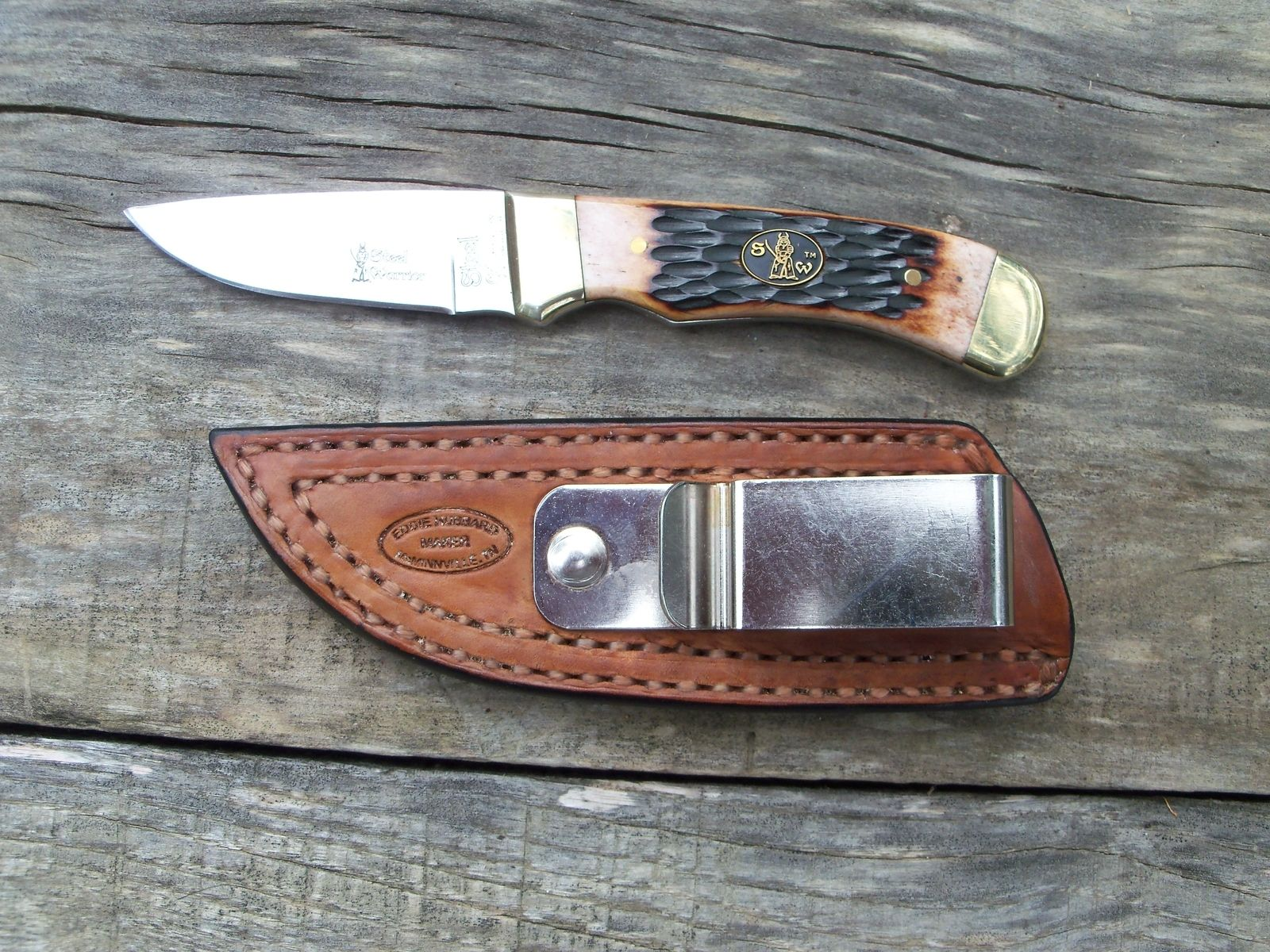 Custom Handmade Leather Knife Sheaths By Hubbard Leather