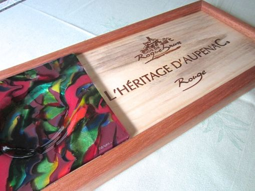 Custom Made Wine Serving Tray - L'Heritage D'Aupenac