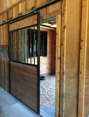 Custom Made Custom Interior And Exterior Stall Doors And Window Bar Dividers
