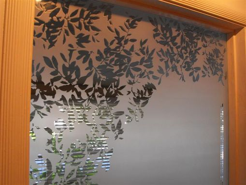 Custom Made Sandblasted Lightscreen