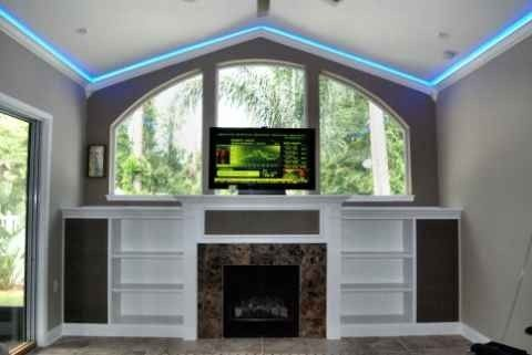 Custom Made Custom Audio Rack And Entertainment Center