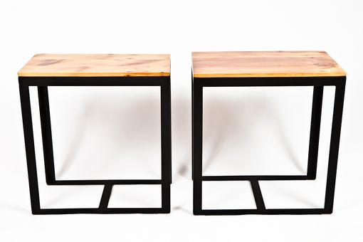 Custom Made Modern Side Tables