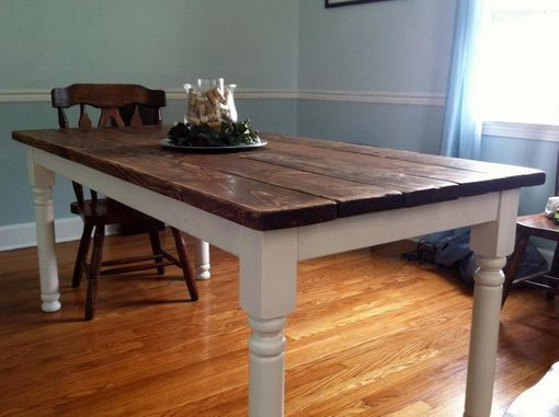 Custom Made Dining Room Kitchen Table - Free Shipping To Lower 48 States
