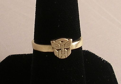 Custom Made Autobots Transformers Ring