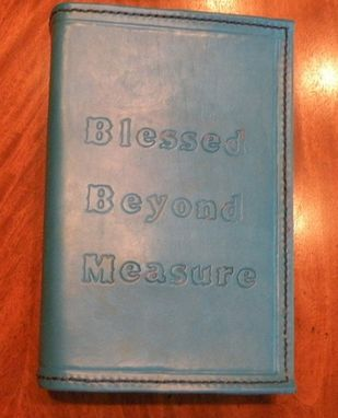 Custom Made Liz's Bible Cover